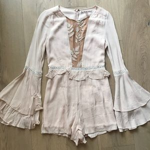 For Love and Lemons Emelia Romper